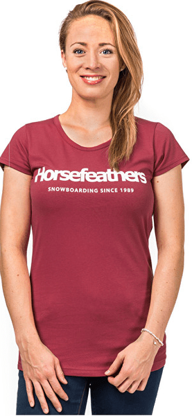 Horsefeathers Dámské triko Neva Rose SW692C (Velikost M)