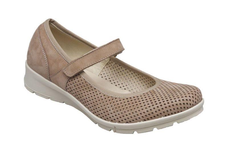 SANTÉ Zdravotní obuv dámská IC 71810 beige (Velikost 38) 93efb8b475d