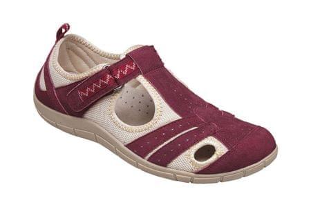 SANTÉ Zdravotná obuv dámska MDA / 159-22 vínová (Veľkosť vel. 36)
