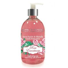 Jeanne En Provence Tekuté mýdlo na ruce Okouzlující růže (Liquid Soap With Olive Oil) 500 ml