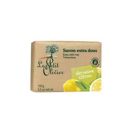Le Petit Olivier Extra fine werbena mydła cytrynowy (dodatkowo Łagodne mydło bary) 100 g