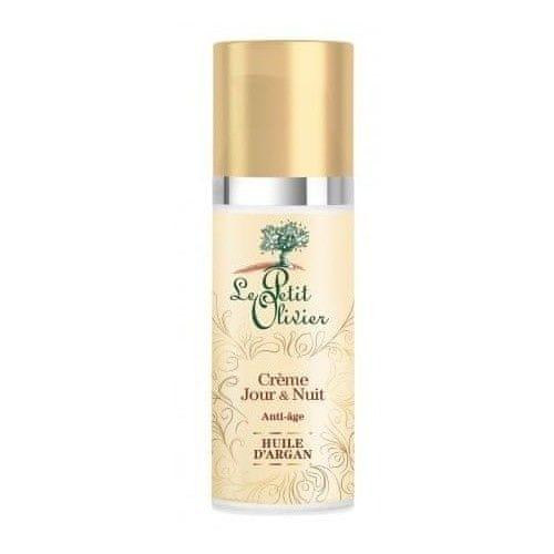 Le Petit Olivier Denní a noční krém proti vráskám s arganovým olejem (Anti-Aging Day & Night Cream) 50 ml
