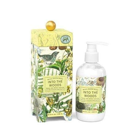 Michel Design Works Nawilżający balsam do rąk i ciała Into The Woods (Into The Woods Hand and Body Lotion) 236 ml