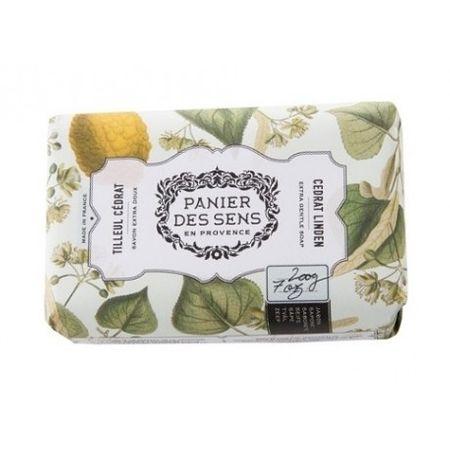 Panier des Sens Extra jemné prírodné mydlo s bambuckým maslom Lipový kvet a citrusy (Extra Gentle Soap) 200 g