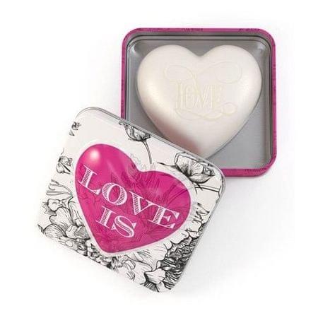 Somerset Toiletry Luxusní tuhé mýdlo ve tvaru srdce Love (Soap) 150 g