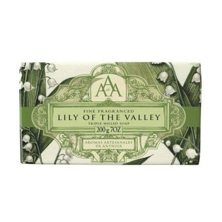 Somerset Toiletry Luxusní mýdlo v ozdobném papíru Konvalinka (Lily On The Valley Triple Milled Soap) 200 g