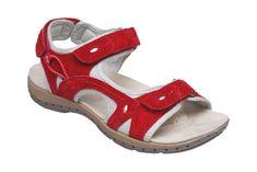 SANTÉ Zdravotní obuv dámská MDA/157-7 červená