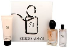 Giorgio Armani SI - PND PND 50 ml + 15 ml + 75 ml Lotion do ciała