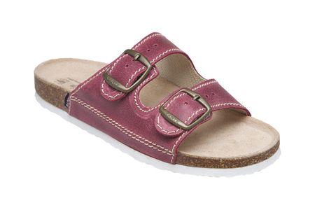SANTÉ Zdravotní obuv dámská D/21/C32/BP bordo (Velikost vel. 39)