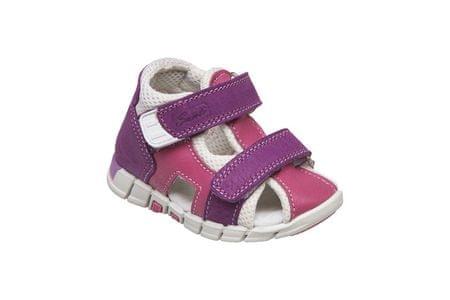 SANTÉ Zdravotní obuv dětská N/810/401/S75/S45 fialová (Velikost vel. 19)