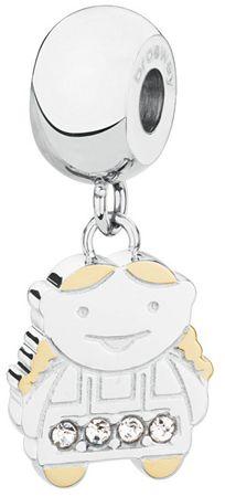 Brosway Ocelový bicolor přívěsek Little Girl Très Jolie BTJM141