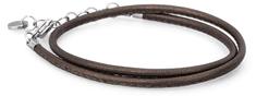 Brosway Hnědý kožený náramek Bracciale BBR31