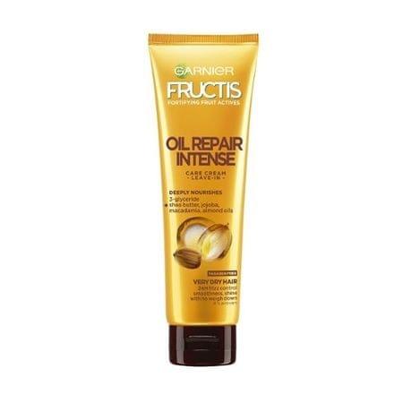 Garnier Natryskiwania opiekę dla bardzo suchych włosów Fructis (Intense Repair Pielęgnacja Oil Leave-In Crea