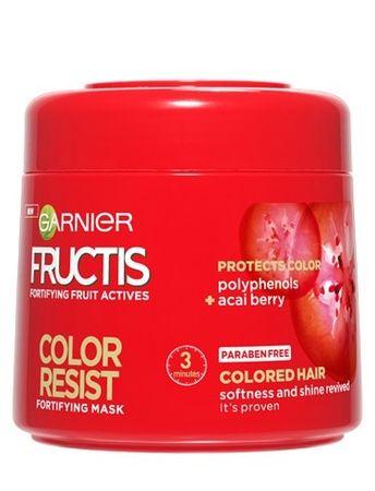 Garnier Posilňujúci maska pre farbené vlasy Fructis (Color Resist Mask) 300 ml