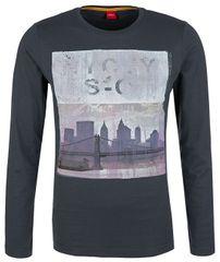 0c57cda63d89 Oliver Pánske tričko 13.710.31.5748.9581 Grey