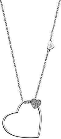 Emporio Armani Romantický oceľový náhrdelník EGS2314040