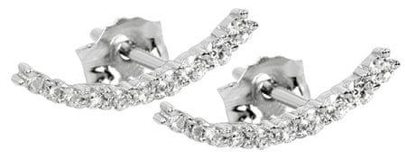 Silver Cat Srebrne kolczyki z cyrkonem SC232 srebro 925/1000