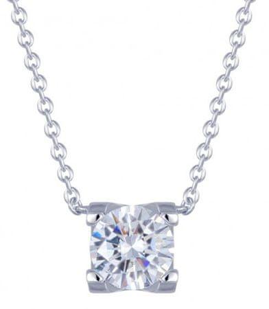 Preciosa Elena ezüst nyaklánc cirkónia kővel 5180 00 ezüst 925/1000