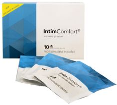Simply you Intim Comfort Anti-intertrigo komplex balzám 10 ks vlhčených ubrousků
