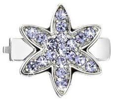 Morellato Sensazioni lila színű kristályokkal díszített virág drops medál SAJT09