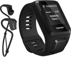 TomTom SPARK 3 Cardio+Music+HP BLK (L)