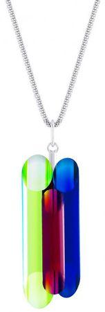 Preciosa Stříbrný náhrdelník s krystaly Neon Collection by Veronica 6074 70 stříbro 925/1000