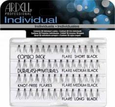 Ardell Trsové řasy černé Combo Black