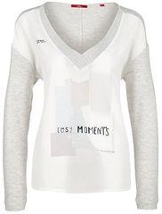 s.Oliver Dámske tričko 14.711.31.5952.02E1 White