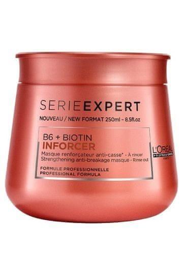 Loreal Professionnel Posilující maska proti lámavosti vlasů Série Expert (B6 + Biotin Inforcer) (Objem 250 ml)