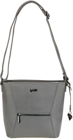 LYLEE Kabelka Frankie Crossover Bag Grey