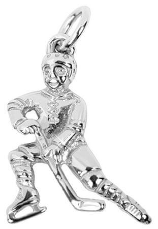 Brilio Silver Strieborný prívesok Hokejista 441 001 01359 04 - 2,18 g striebro 925/1000