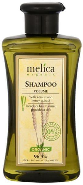 Melica Šampon na vlasy Objem s keratinem a extraktem medu 300 ml