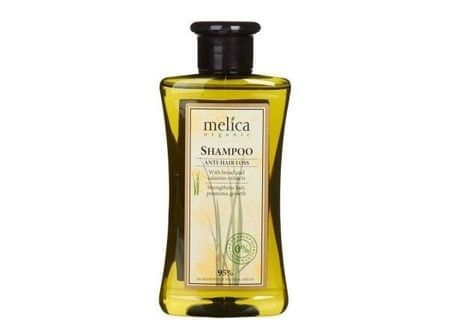 Melica Šampón proti vypadávaniu vlasov s extraktom raže a puškvorca 300 ml