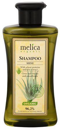 Melica Połysk szampon z białek pszenicy oraz wyciąg z aloesu 300 ml