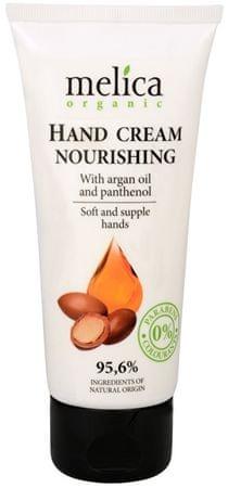 Melica Vyživující krém na ruce s arganovým olejem a panthenolem 100 ml