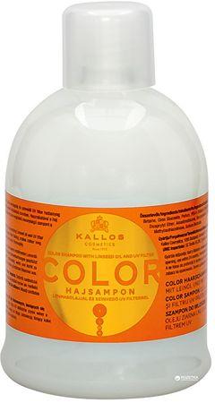Kallos Šampón na farbené vlasy sa ľanovým olejom a UV filtre (Color Shampoo with Linseed Oil and UV filter)