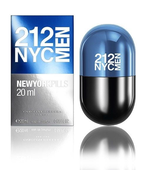 Carolina Herrera 212 New York Pills Men - EDT 20 ml