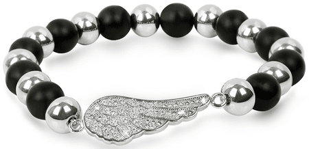 Troli Kuličkový náramek s andělským křídlem