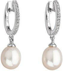 Evolution Group Stříbrné perlové náušnice Pavona 21002.1 stříbro 925/1000