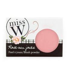 Miss W Pudrová tvářenka pro zdravý vzhled pleti (Blush Powder) 6,5 g