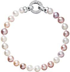 Evolution Group Barevný perlový náramek Pavona 23004.3 A stříbro 925/1000