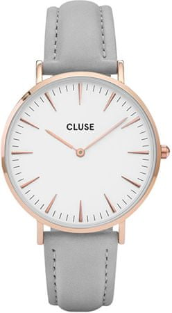 Cluse La Bohème Rose Gold White/Grey CL18015