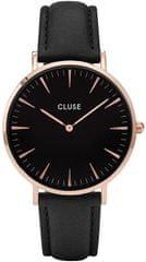 Cluse La Bohème Rose Gold Black/Black CL18001