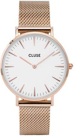 Cluse LaBohèmeMesh Rose Gold/White CL18112
