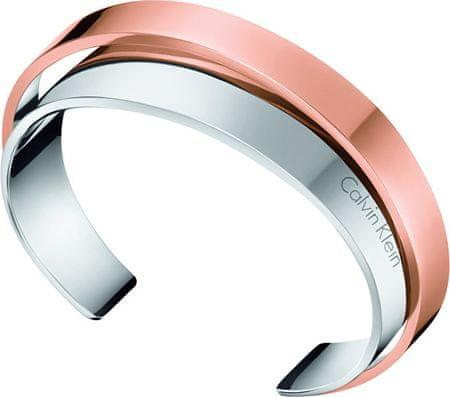 Calvin Klein bransoletka bicolor otwarty stal Unite KJ5ZPF2001 (wymiar 5,8 x 4,6 cm)