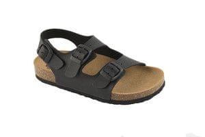 Scholl Zdravotní obuv AIR BAG B S KID SynNub-J - černá (Velikost vel ... 856491f2cdb