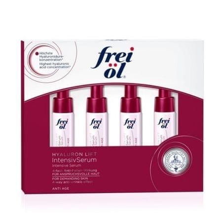 frei öl Intenzív világos bőr ránctalanító szérum (intenzív szérum) 4 x 6 ml