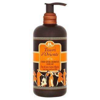 Tesori d´Oriente Lotus Flower & Acacia`s Milk - krémové mýdlo 300 ml