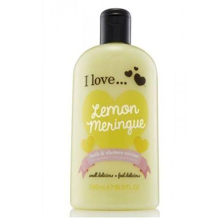I Love Cosmetics Wanna i prysznic krem z aromatem cytryny bezy (Lemon Meringue kąpieli i pod prysznic Cream) 500 ml
