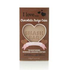 I Love Cosmetics Hydratační a vyživující mýdlo s vůní čokoládového dortu (Moisturising Nourishing Smashable Soap Bar)